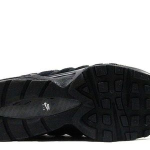 c98f06ad0bc6 Nike Shoes - NIKE AIR MAX 95 GS 307565-055 LEATHER BLACK